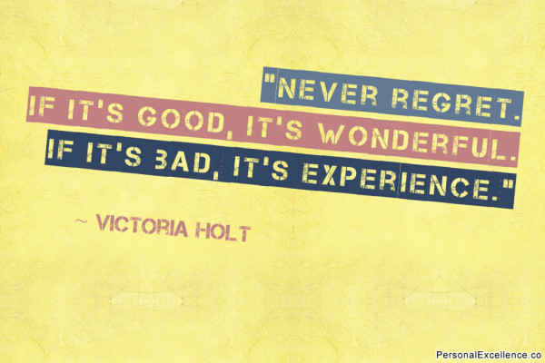inspirational-quote-never-regret-victoria-holt