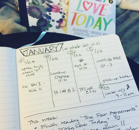 Bullet Journals, Only Love Today & Take Flight